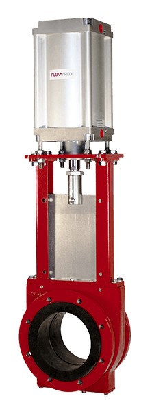 SKH knife gate valves - Flowrox