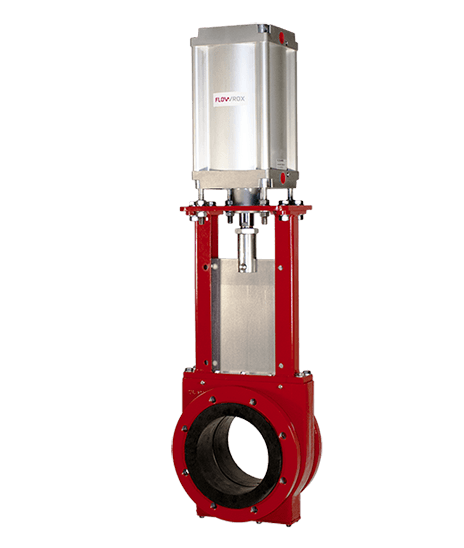 Knife gate valves - Flowrox